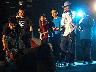 Machi (hip hop group) - Machi at Taiwan Shih Hsin University's 50th anniversary celebration concert, 14 October 2006