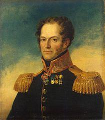 Portrait of Mikhail N. Matsnev (1785-1842)