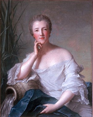 Marie Françoise Catherine de Beauvau-Craon - by Jean Marc Nattier