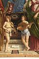 Madonna in trono col Bambino fra angeli e santi - Particolare 04.jpg