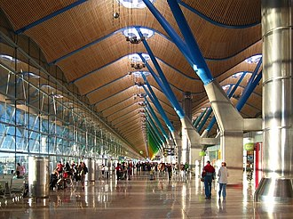 Richard Rogers - Madrid-Barajas Airport terminal 4