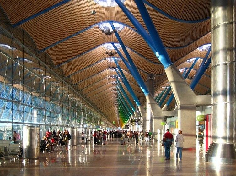 Madrid barajas aeropuerto terminal t4