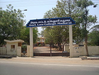 Government Law College, Madurai - Madurai Government Law College