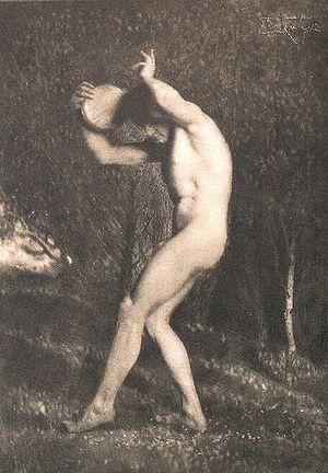 Frank Eugene - Image: Maennerakt Nude Male von Frank Eugene Smith