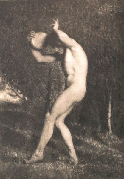 File:Maennerakt-Nude Male von Frank Eugene Smith.jpg