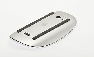 Magic Mouse - Underside, battery compartment of the Magic Mouse