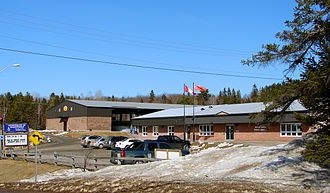 Almaguin Highlands - Municipal office and library of Magnetawan