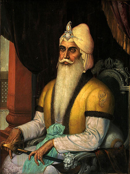 ファイル:Maharaja Ranjit Singh, Emperor of the Sikh Empire.jpg