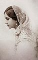 Maharani Shrimant Chandravati Bai Sahib Holkar, First Wife of Maharaja of Indore Tukojirao Holkar III.jpg
