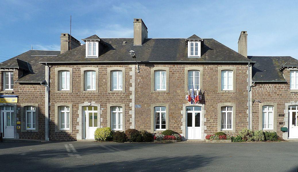 Mairie de Roncey (Manche, France)