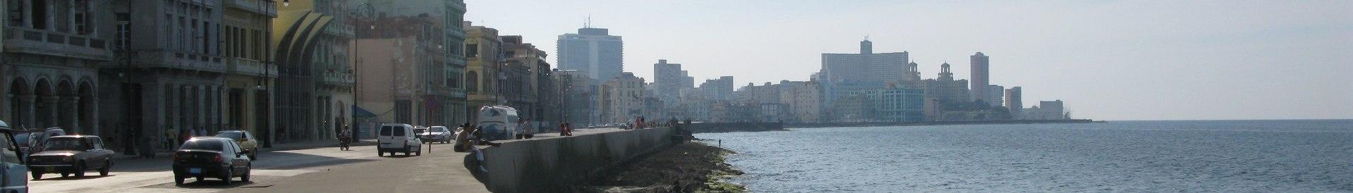 Malecon (Cuba) banner Foreshore.jpg