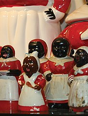 Mammy figurines in the collection of the Jim Crow Museum of Racist Memorabilia