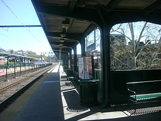 Manayunk, Philadelphia - Manayunk Station on the SEPTA Regional Rail Manayunk/Norristown Line, 2012