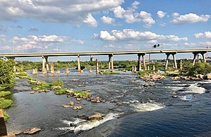 U.S. Route 60 in Virginia - Manchester Bridge over the James River