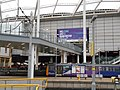 Manchester Arena entrance from Victoria station.jpg