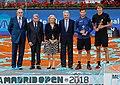 Manuela Carmena asiste a la final Mutua Madrid Open 2018 en la Caja Mágica 03.jpg