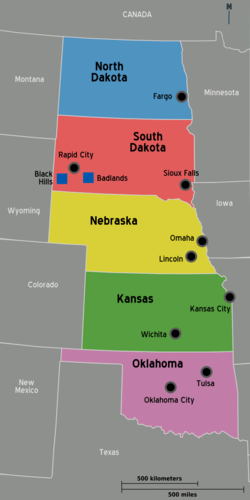 Great Plains – Travel guide at Wikivoyage