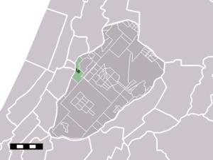 Zwaanshoek - Image: Map NL Haarlemmermeer Zwaanshoek