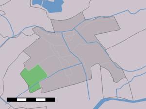 Benedenheul - Image: Map NL Vlist Benedenheul