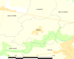 Map commune FR insee code 32439.png