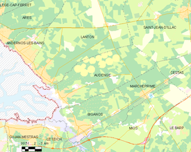 Map commune FR insee code 33019.png