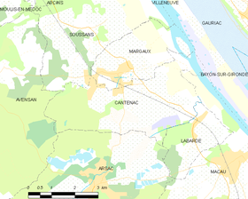 Map commune FR insee code 33091.png