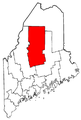 Map of Maine highlighting Piscataquis County.png