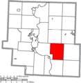 Map of Muskingum County Ohio Highlighting Salt Creek Township.png