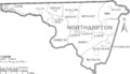 Map of Northampton County North Carolina With Municipal and Township Labels.PNG