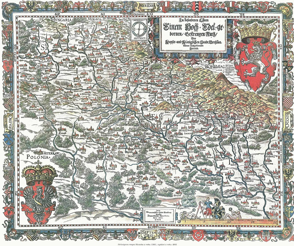 Historia Slaska Wikipedia Wolna Encyklopedia