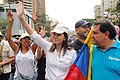 María C. Machado heading the protest.jpg