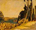 Marcel Amiguet, Paysage turc (Eyoub), 1930, huile.jpg