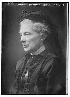 English political hostess and philanthropist