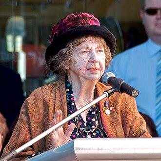Margaret Olley - Margaret Olley in August 2009