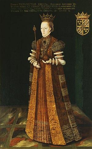 Margaret Leijonhufvud - Painting by Johan Baptista van Uther