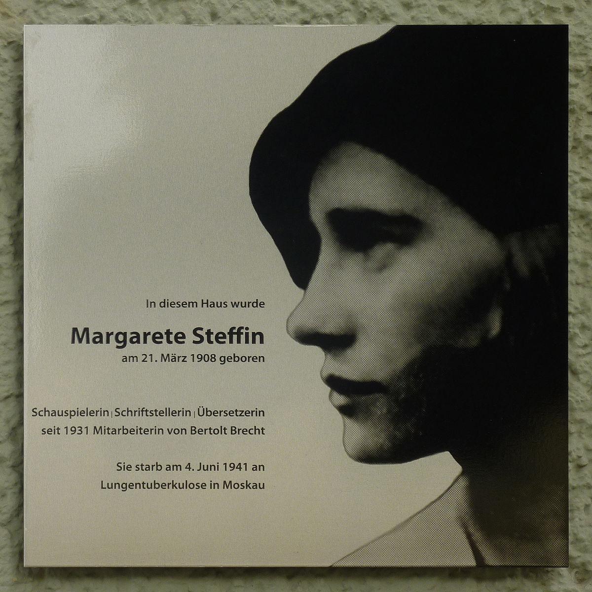 Margarete Steffin –