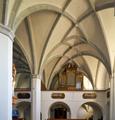 Mariä Himmelfahrt zu St. Leonhard 06 (spätgotische Empore) Aigen am Inn Bad.png
