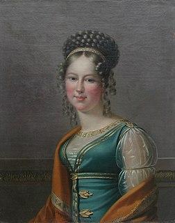 Princess Maria Antonia Koháry Hungarian noblewoman