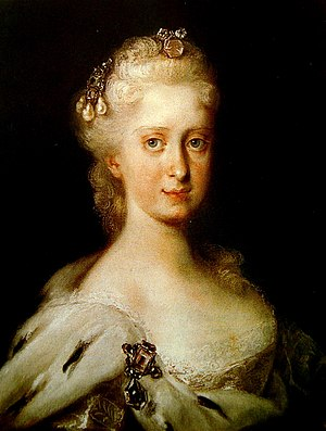 Elsterwerda - Maria Josepha of Austria, Queen of Poland