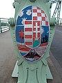 Maria Valeria Bridge, CoA in Esztergom.jpg