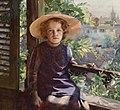 Marie-Louise Bion Mädchen am Balkon 1891.jpg