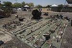 Marines recover, clean debris from Harrier crash in California 140609-M-HL954-602.jpg