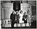 Mark Bortman, Chairman of the Civic Committee of the People-to-People Program; Mary Collins; unidentified woman; Llora Bortman; and unidentified woman (10425977244).jpg