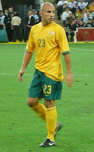 Mark Bresciano - Bresciano with Australia in 2006