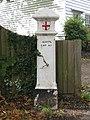 Marker post, Milbourne Lane - geograph.org.uk - 1034802.jpg