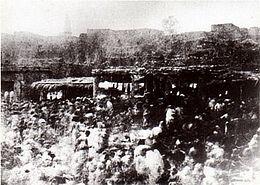 Le marché de Harar photographie de Rimbaud (vers 1883)