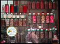Maroc.- Marrakech, confiserie dans la Médina au ( Souk cherifia).jpg