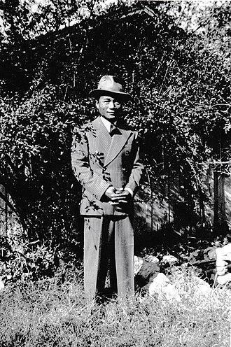 Demographics of Filipino Americans - Marshall Tuason, a Filipino immigrant to California, in 1941.