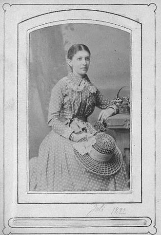 Martha Bernays - Martha Bernays (1882)