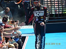 Martin Truex Jr. at the Daytona 500.JPG